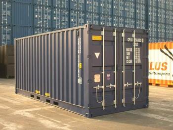 Характеристики морских контейнеров