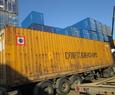 Морской контейнер 40 футов PW (широкий под две паллеты)