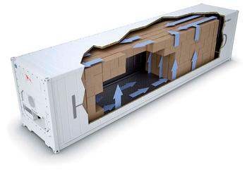 Устройство рефрижераторного контейнера